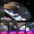 Technology蒸気パンクレトロ牧人メカニンボンドマウスヘッドセットセットパソコンボタンマウスノートの三点セットのケーブル赤軸茶軸の外に電競ゲームを食べます。鶏青軸黒軸104ボタン混合金属灰青軸-マクロプログラミングマウスセット