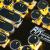 RK蒸気パンクRGBバーライトゲーム復古メカニカルボワードマウスセットボタンマウスCHERRYcherry軸赤軸黒軸コンピュータノートケーブル108ボタン黒金めっき版黒軸を年替わりに更新しました。