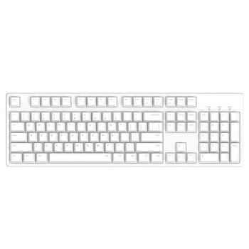 ibc C 104 CHERRY軸メカニンボンド104鍵盤ゲームミッキーボンド元工場Cherry軸キーボードの白い黒軸絶地求生人体工学キーボード
