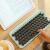LOFREE洛斐DOTドットブルートゥースメニカルボワードMACオフィスノート無線キーボードiPad青軸キーボード白色