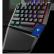 ユニック(Rapoo)V 550 RGBチキン片手キーボードメカニンカルキーボンドゲームボックスボックスボックス有線キーボードRGBバーライトキーボードマクロ定義可編集程青軸