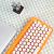 LOFREE洛斐DOTドットブルートゥースメールボックスMACオフィスノート無線キーボードiPad青軸キーボードオレンジ限定版