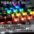 磁気動力(ZDLI)暴走メカニカルボマウスセット104ボタン青軸光軸ハイブリッド金属有線ゲームボックス暴走104キーブラックハイブリッド光軸(サクサク防水)