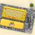 LOFREE洛斐小黄鴨B.Duck DOTドットブルートゥースメニルキーボンド無線復古キーボードiPadアップルノートキーボード小黄鴨セット