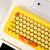 DOTドットブルートゥースメールボックス毒奏小黄鴨ブルートゥーススピーカーセット(MacノートiPadパソコンオフィス携帯アウトドアレトロラジオ)小黄鴨セット(キーボード+毒奏)