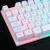カラマツムシゲームのバトライトLED付き機械的手触りキーボードヘッドセットセットlol食べます。家庭用ケーブルカフェの外にパソコンのノートパソコンUSBの外にマウスを接続します。K 4の白い虹のバトライトです。