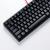 DOOMHAMMER By NOPPOO CHOC 87鍵盤単光版電競コンピューター機械食べ鶏ゲームミックボンドCHERRY軸CHOC 87単色NOPPOO版赤軸