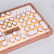 AZIO RCB POSHメールボックス無線Bluetoothキーボードキーボードキーボードバーライト復古104キーノートキーボードパッドiPADキーボード白色皮青軸自営